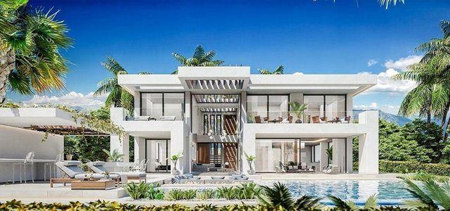 Villa en venta en Marbella (Cancelada, Málaga)