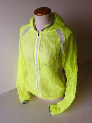 Cortavientos/chaqueta ligera/chubasquero ciclismo