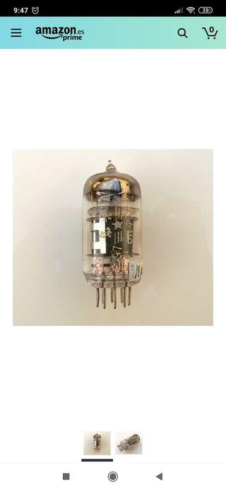 válvula para amplificador de guitarra