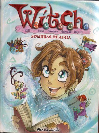 LIBRO WITCH SOMBRAS DE AGUA