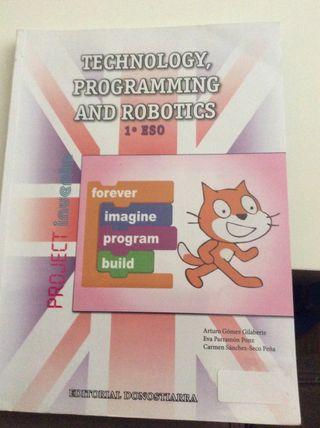 Libro de technology,programming and robotics 1ºeso