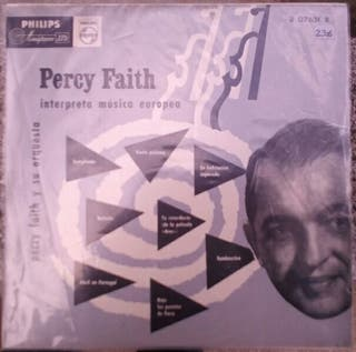 "vinilo 10"" percy faith"