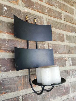 Portavelas candelabro de pared Ikea