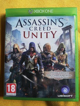 Assasins Creed Unity Xbos One