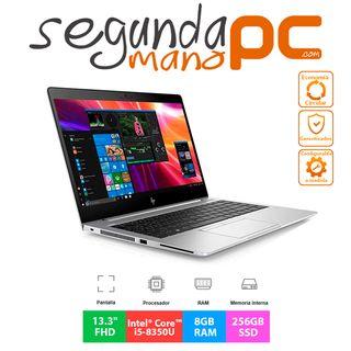 """HP EliteBook 830 G5 - i5 - 8GB- 256GB SSD - 13.3"""""""
