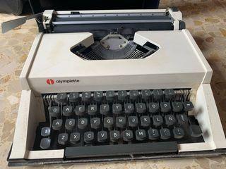 Máquina escribir vintage Olympiette