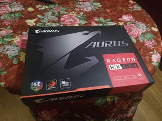 Tarjeta Grafica RX 580 8GB AORUS