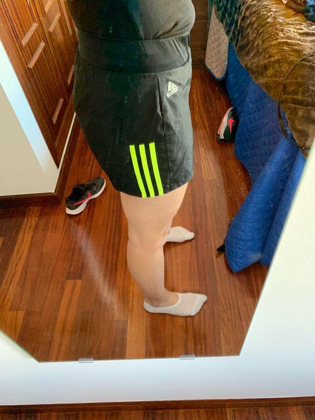 Pantalon running Adidas talla S