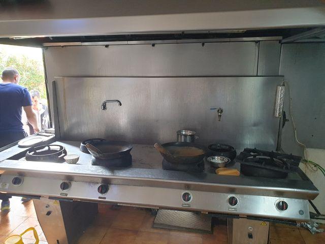 cocina asiática wok
