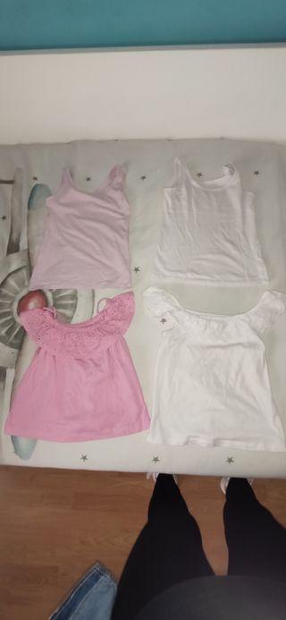 pack camiseta niña 3-4 años