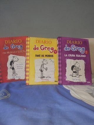 """Libros """"Diario de Greg*"""