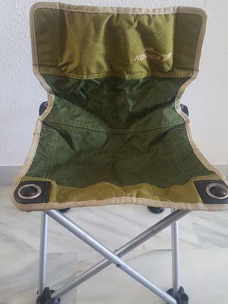 silla de barbacoa o camper