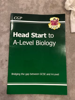 Head start to A level Biology