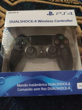 Mando PS4 Acero Negro Regalo