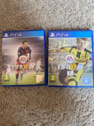 Videojuegos FIFA ps4