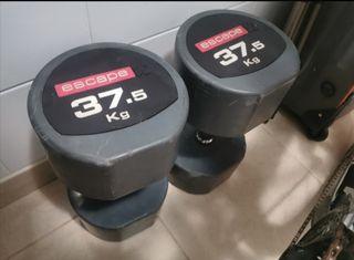 Mancuernas 37,5 kg