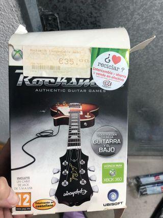 Juego Xbox 360 rocksmith