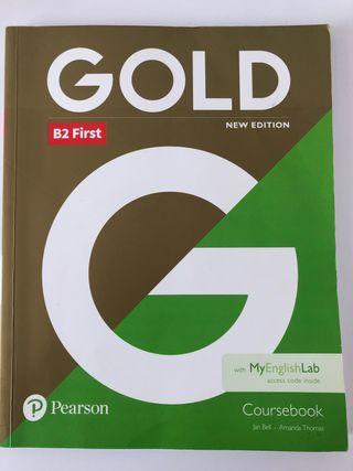 Libro Gold B2 First (2 Bachillerato )