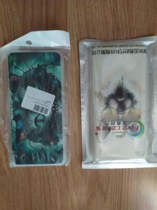 Funda y Cristal protector, Xiaomi Note 5 y mi 6X