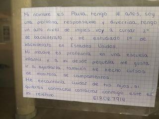 Cuidadora de niños en Las Rozas de Madrid