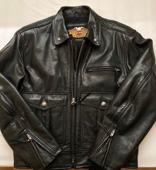 Chaqueta de cuero hombre Harley Davidson Talla M