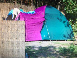 Igloo camping