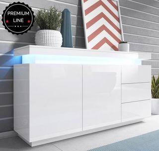 Mueble moderno aparador consola LED salon comedor