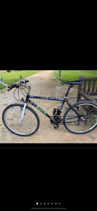 Bicicleta talla S-M recién revisada,cubiertas new