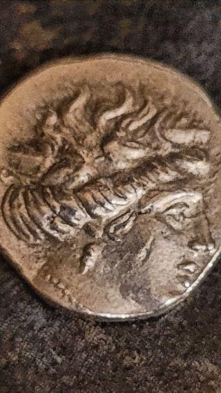 Ancient Roman Silver Coin