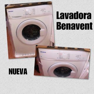 Lavadora Benavent nueva con garantía