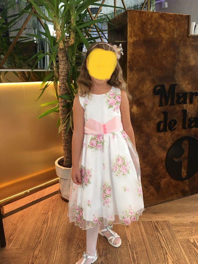 Vestido niña de 5 a 8 años.Fiesta,comunión,cumpl