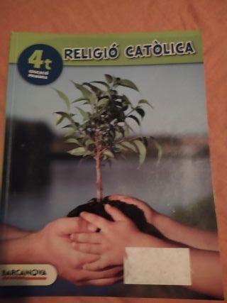 libro religió 4t