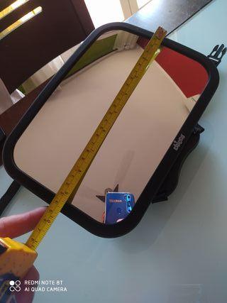 Espejo vigilabebe contramarcha
