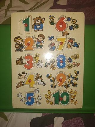 Lote puzzles infantiles
