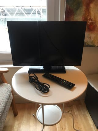 22 inch Hitachi TV - HDMI cable included