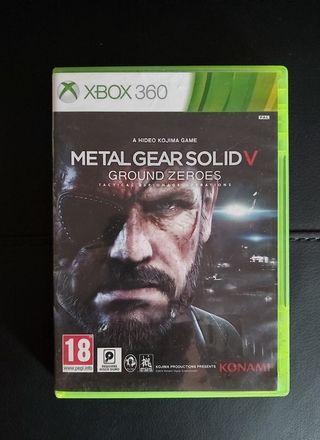 METAL GEAR SOLID V Para XBOX 360