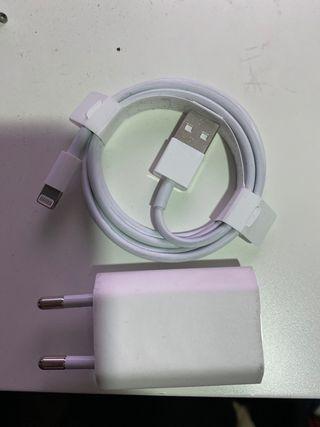 Cable y cargador Apple