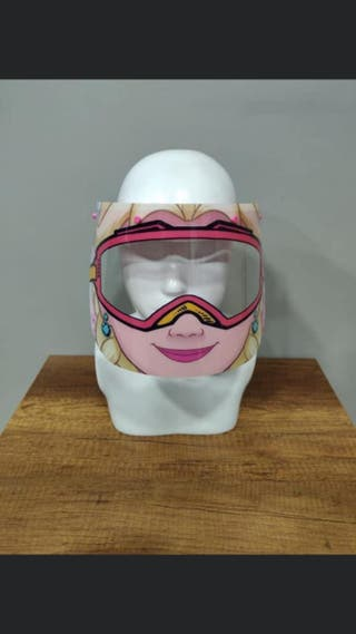 Barbie protective face mask