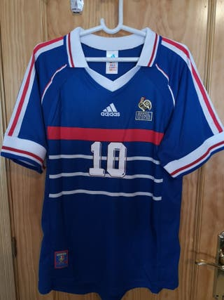 Camiseta Francia L Zidane 98