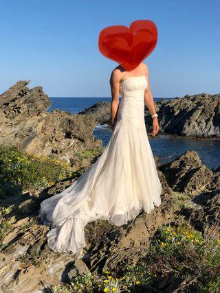 Vestido de boda de Rosa Clara