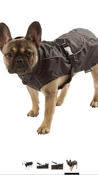 Kerbl Rain Forks Coat Small 35cm Black