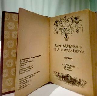 CLÁSICOS UNIVERSALES DE LA LITERATURA ERÓTICA