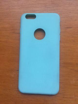 Funda iphone 6 plus azul