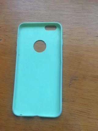 Funda iphone 6 plus verde
