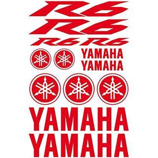 Oferta Pegatinas Yamaha R6 envíos a toda España