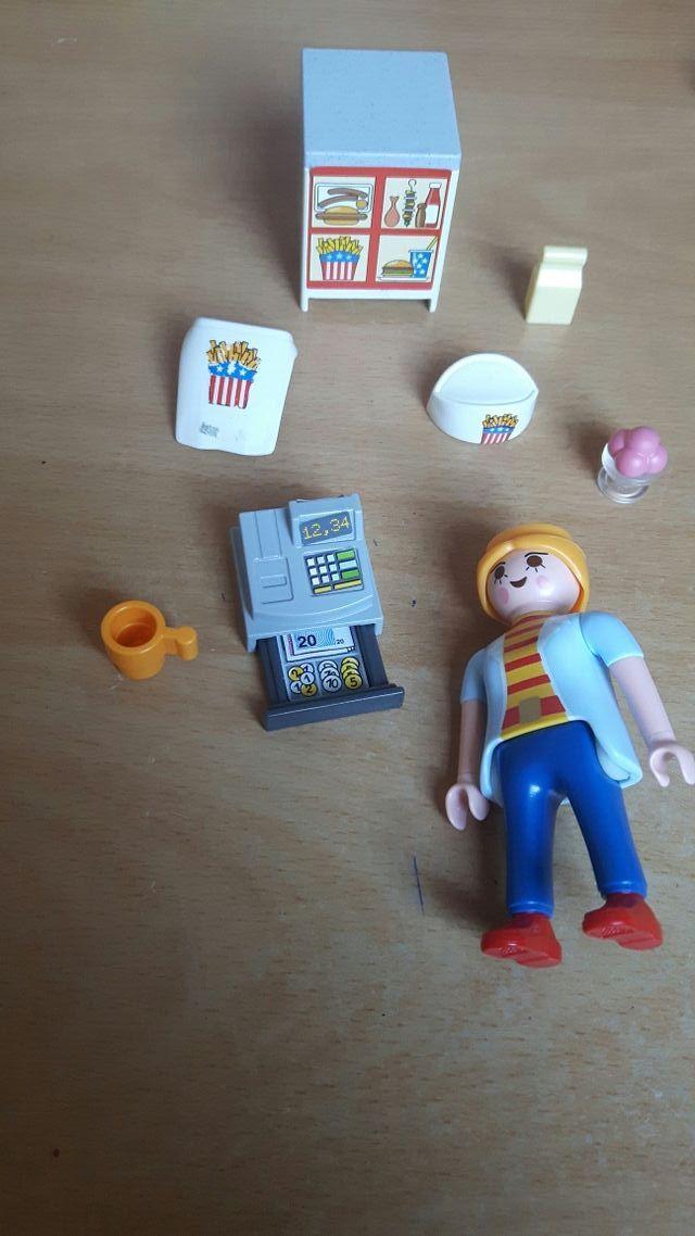 Friterie playmobil