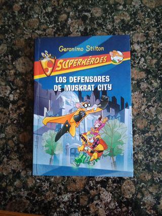 "Libros Colección""Superhéroes"" Gerónimo Stilton"