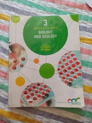 Libro de Biología y Geología 3 eso