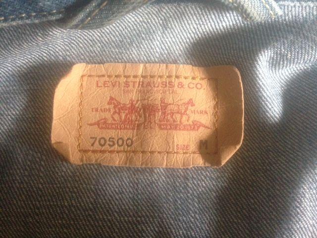 CAZADORA VAQUERA LEVIS 70500 hombre