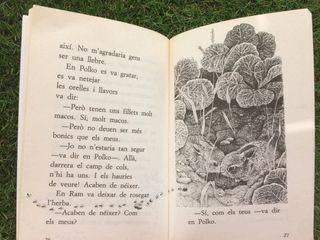 """Libro en catalán """"Els llebretons es fan grans"""""""